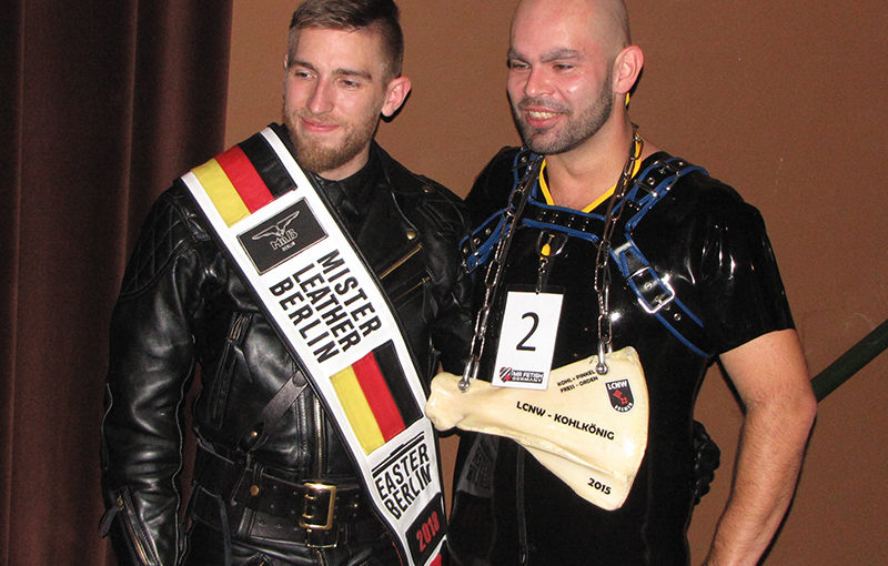 Qual der Wahl – Mr Fetish Germany 2018