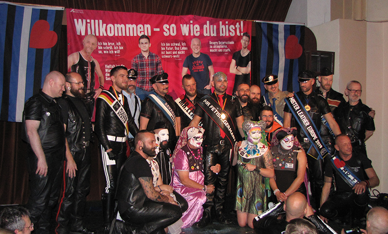 Wahl zum MR FETISH GERMANY 2018 - copyright 2018, fesselblog.de