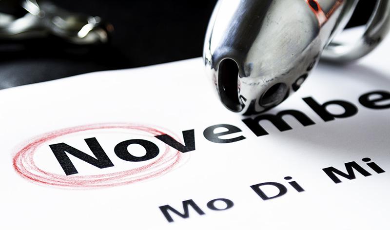 """November - copyright 2018, mit freundlicher Genehmigung von """"ChasteSubMuc"""""""